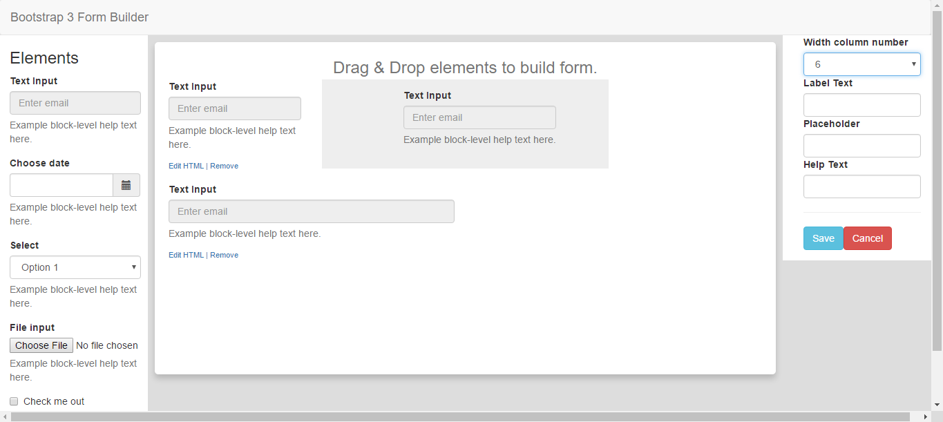 bootstrap 3 form