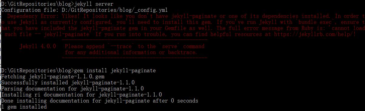 jekyll_server_erro错误2