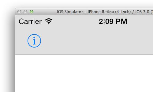 iOS 7 default