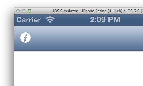 iOS 6 default