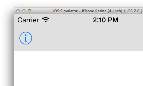 iOS 7 fixed