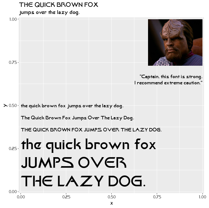 GitHub - leonawicz/trekfont: Star Trek fonts R package