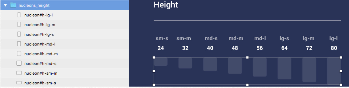 Example height