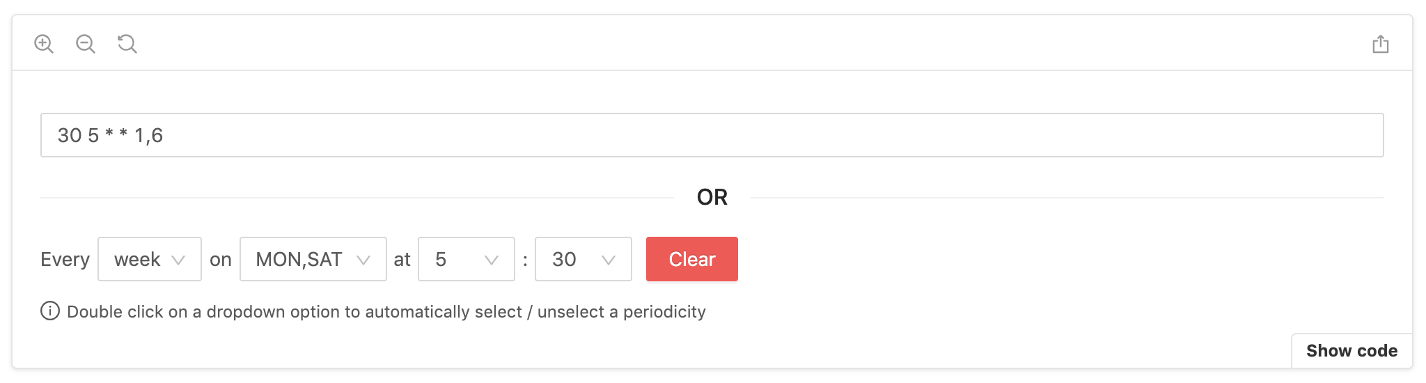 react-js-cron example