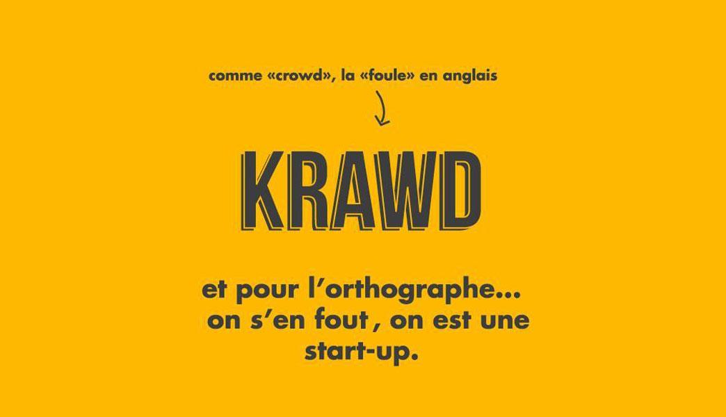 KRAWD, l'agence de communication dématérialisée
