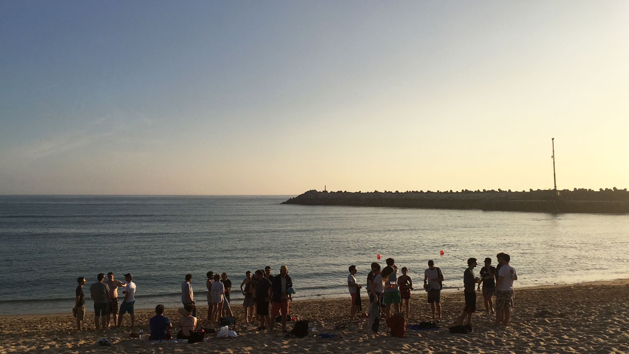 Chillin' at the beach, Ericeira
