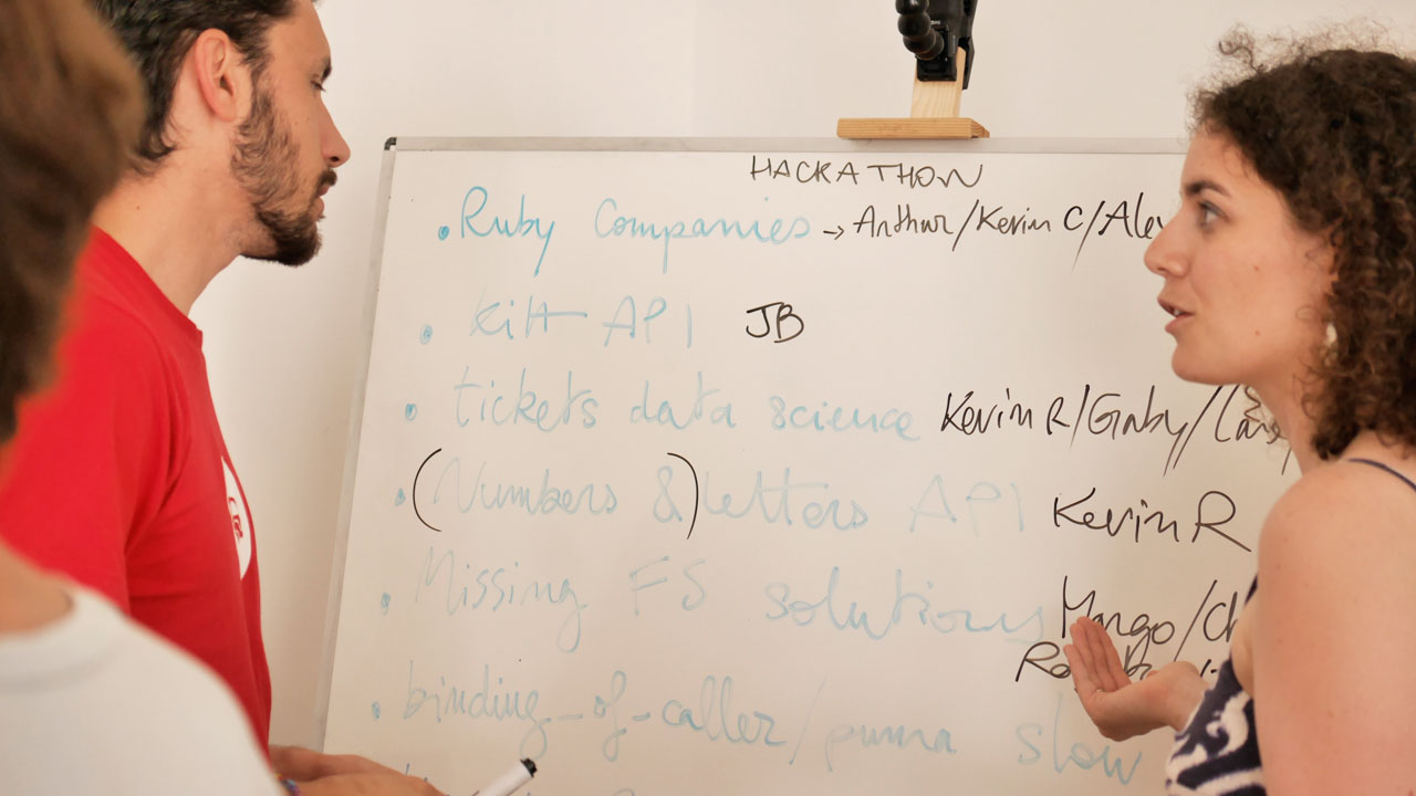 Teachers' hackaton organisation