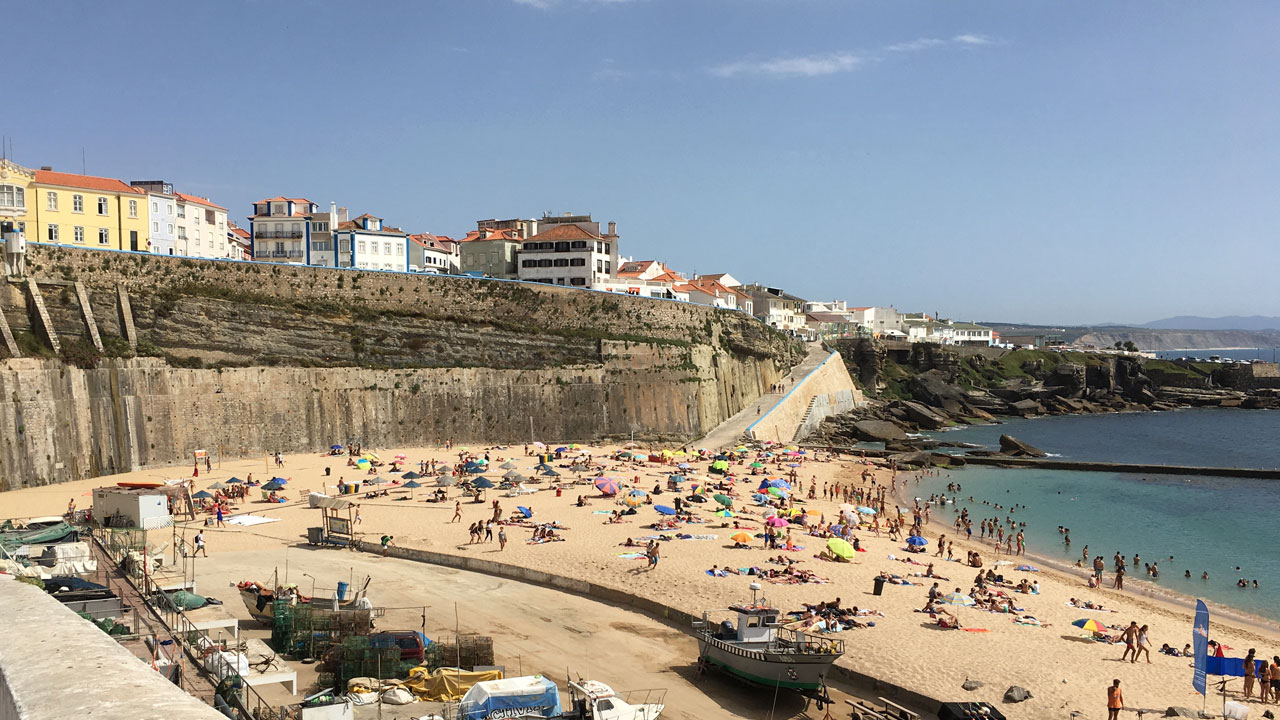 Yep. One of the best spot available in Ericeira