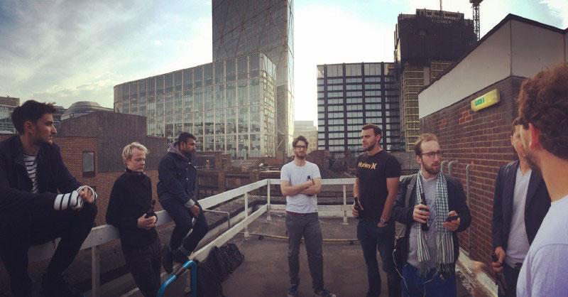 Rooftop beers