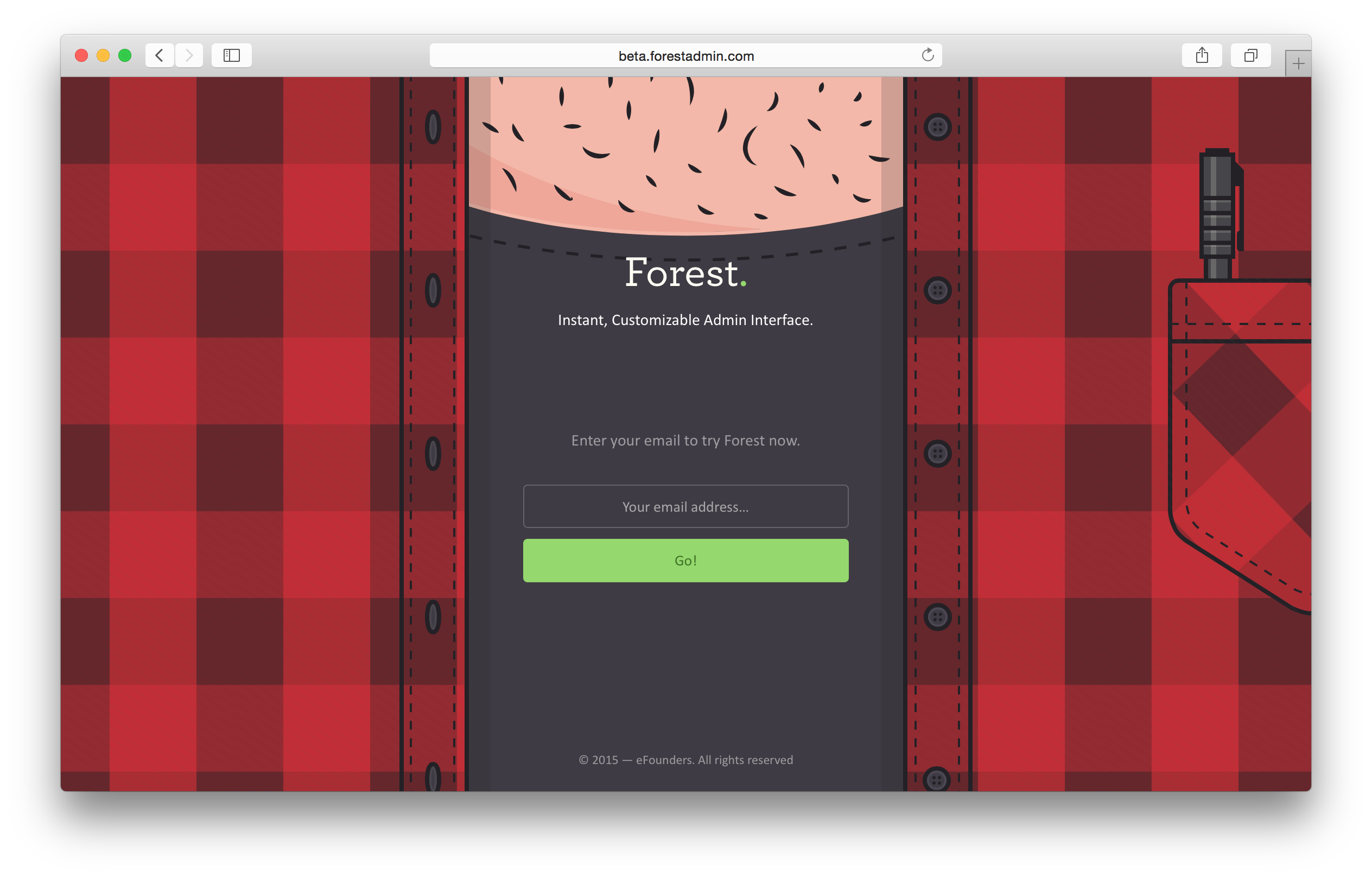 Forest Admin, admin as a service