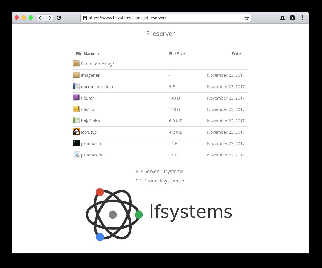 GitHub - lfelipe1501/Nginxy: FancyIndex Theme for Nginx same