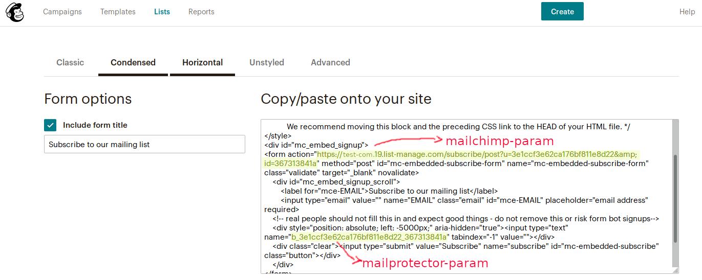 mailchimp-example