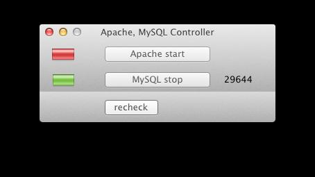 Mac OSX App to control apache, mysql