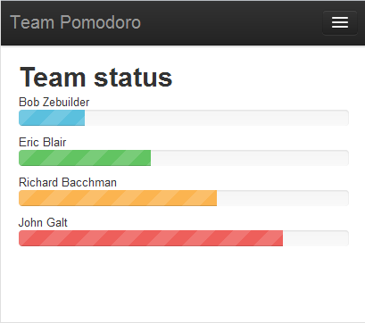 Team Pomodoro screen shot