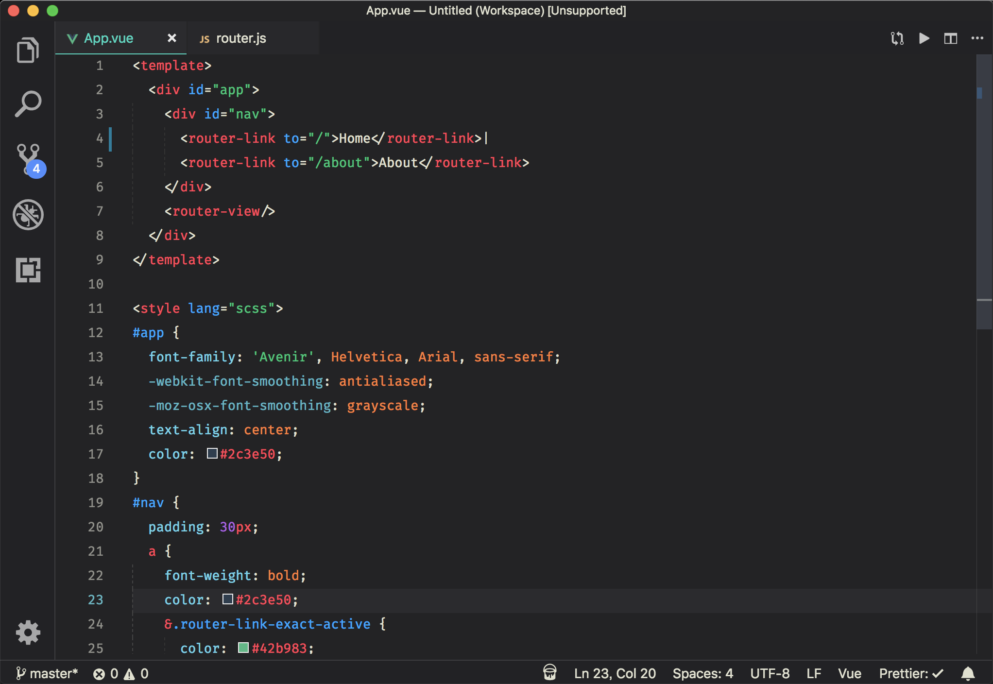 Theme Frontend Screenshot