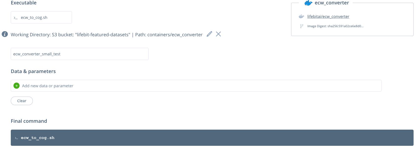 GitHub - lifebit-ai/ecw-converter: Dockerised python scripts