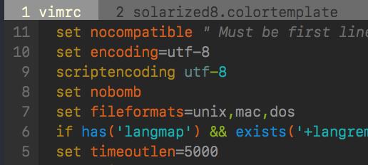 Solarized 8 - Vim Awesome