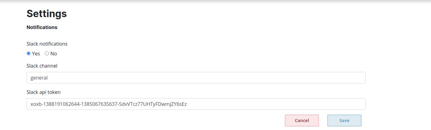 add token control screenshot