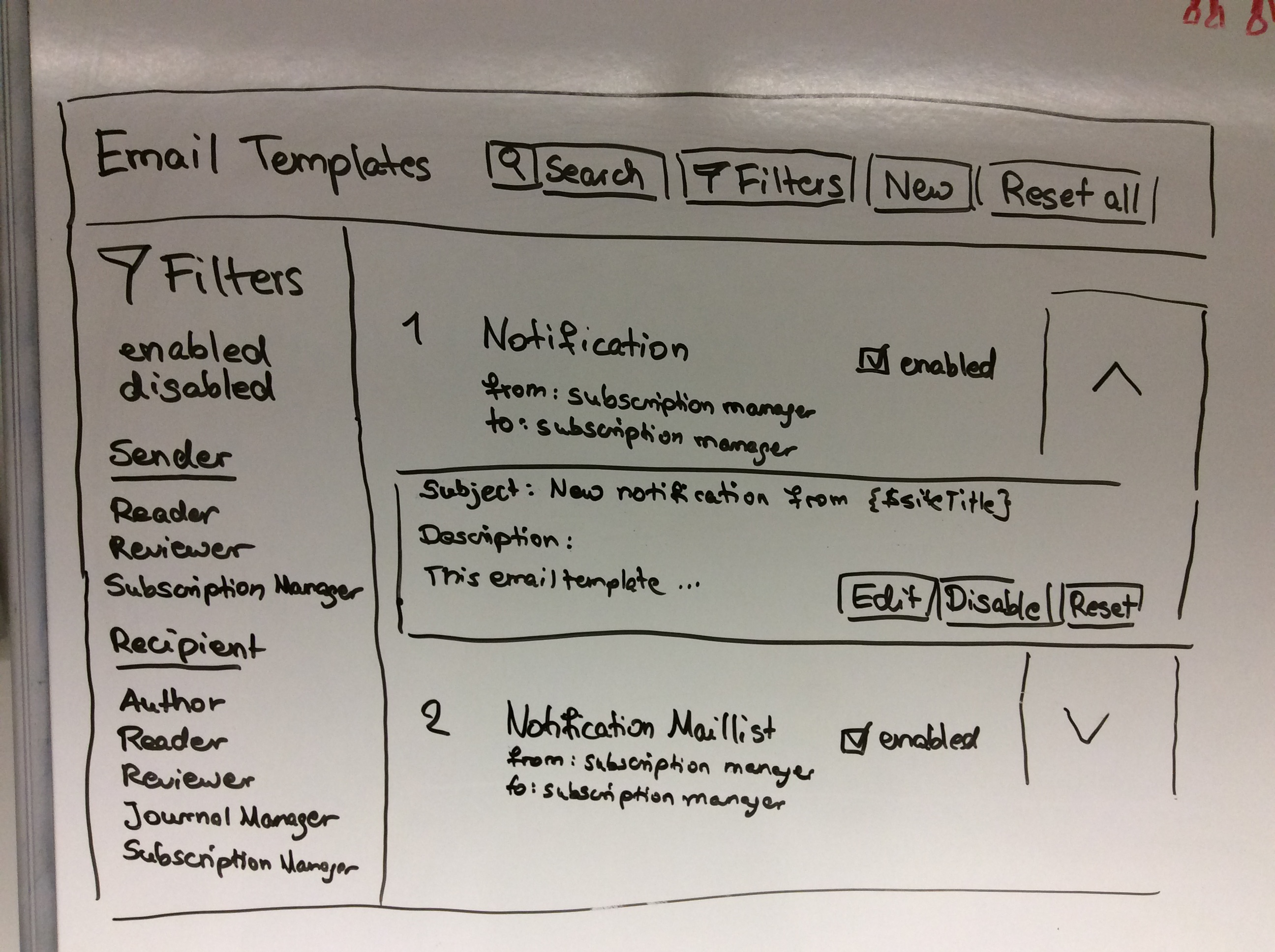 Improve Email Templates View · Issue #2906 · pkp/pkp-lib · GitHub