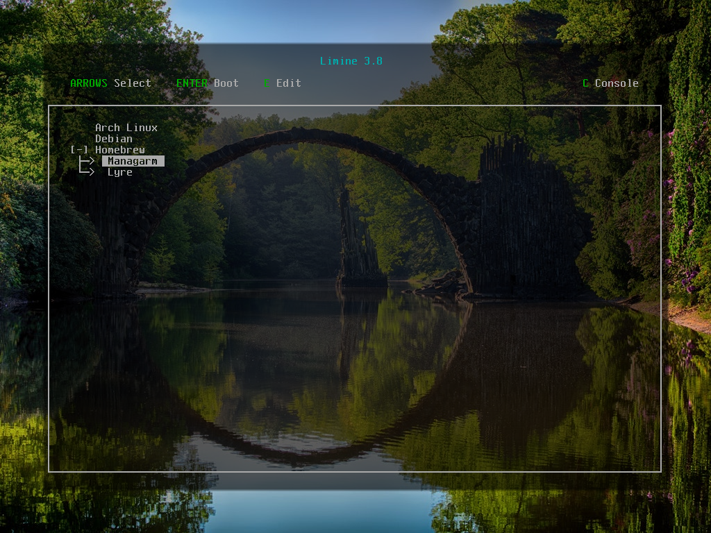 Limine Screenshot