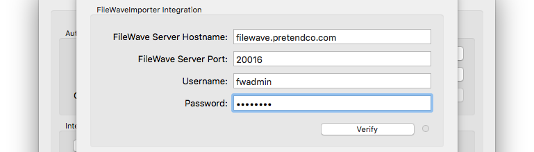 FileWave Settings