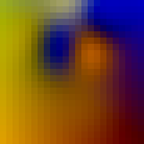 Gaussian radius 4.5