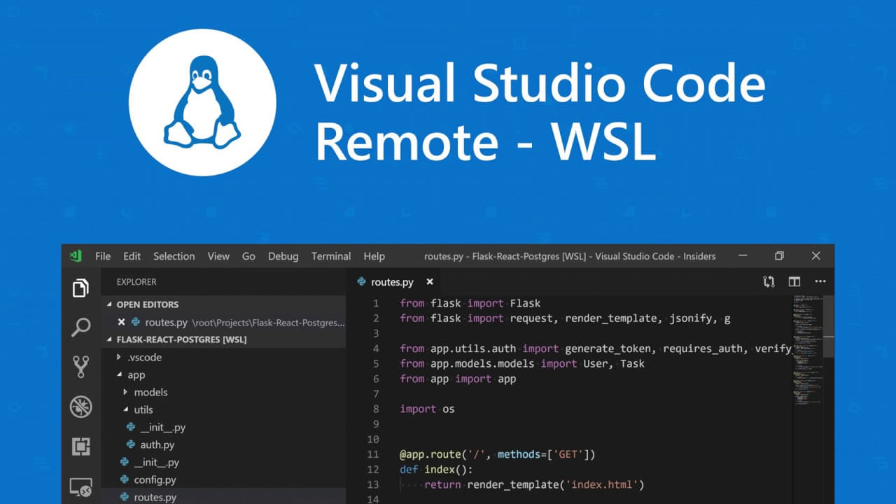 Visual Studio Code Remote - WS