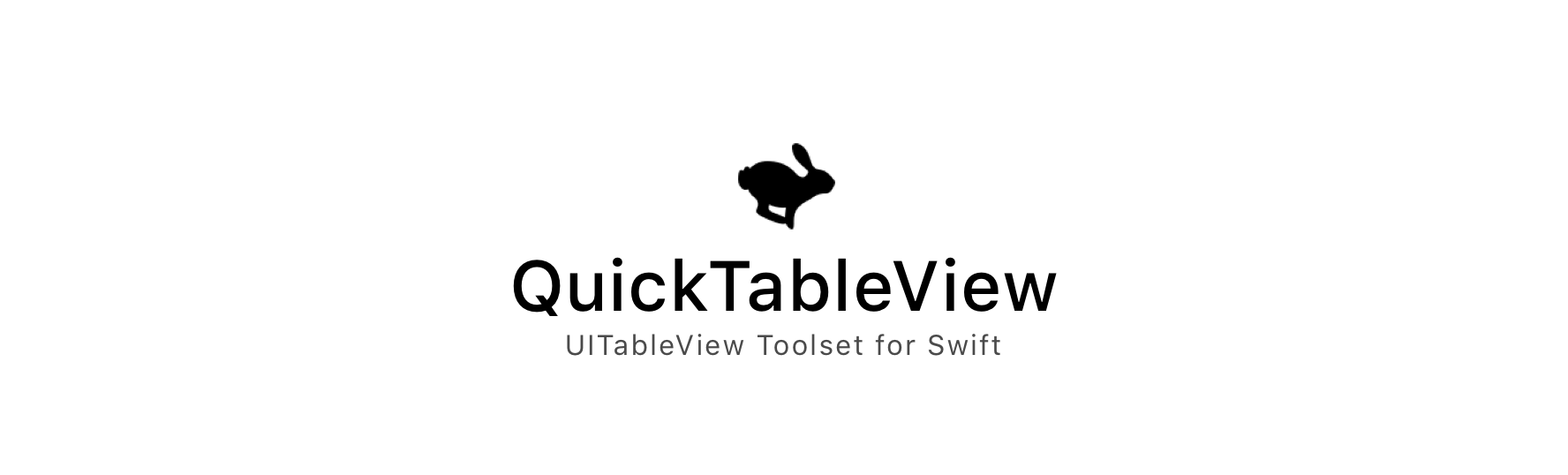 QuickTableView