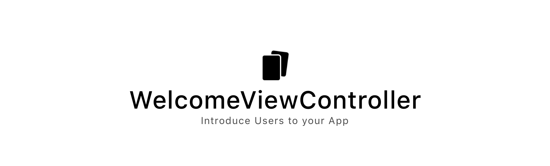 WelcomeViewController