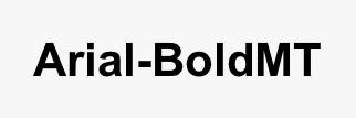 Arial-BoldMT