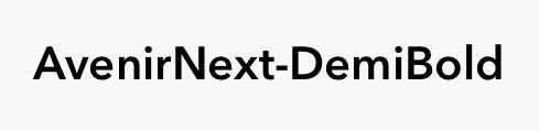 AvenirNext-DemiBold