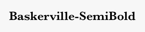 Baskerville-SemiBold