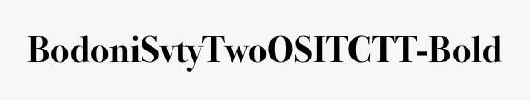 BodoniSvtyTwoOSITCTT-Bold