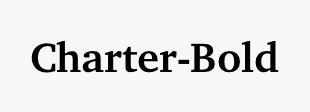 Charter-Bold
