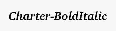 Charter-BoldItalic
