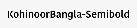 KohinoorBangla-Semibold