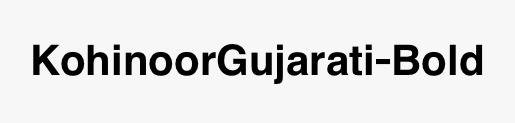 KohinoorGujarati-Bold