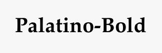 Palatino-Bold