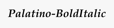 Palatino-BoldItalic