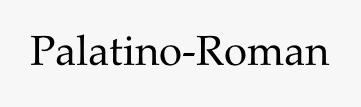 Palatino-Roman