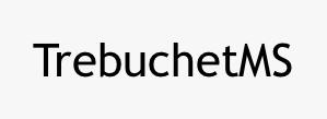 TrebuchetMS