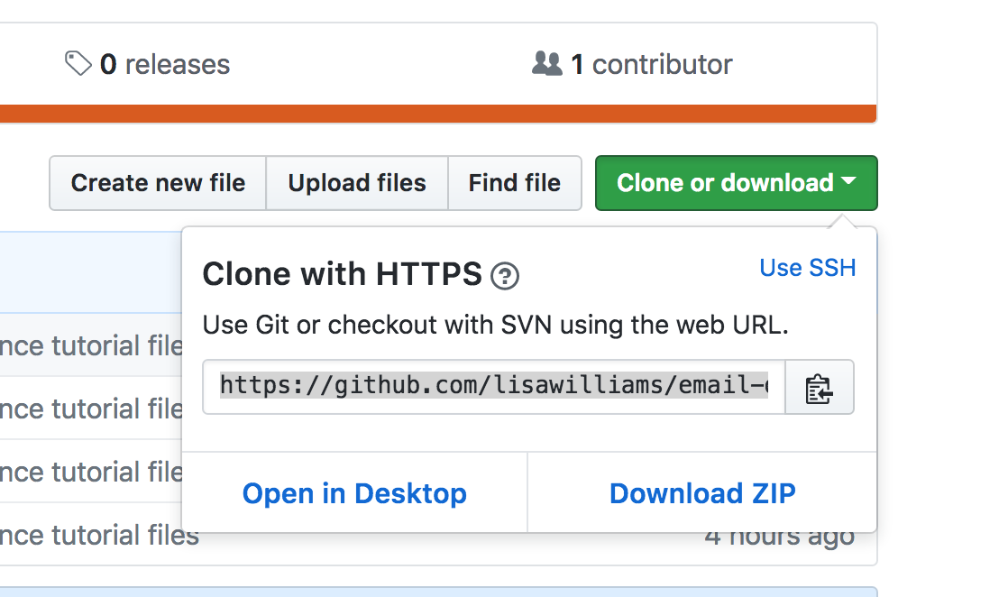 Clone and download from Github