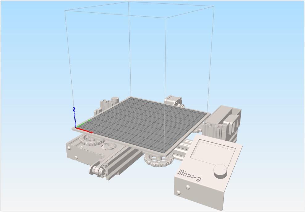 Virtual bed for Creality Ender-3 (stl format) ! - Simplify3D User Forum