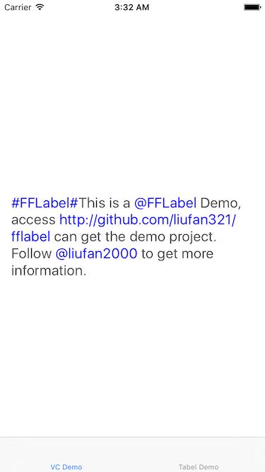 FFLabel