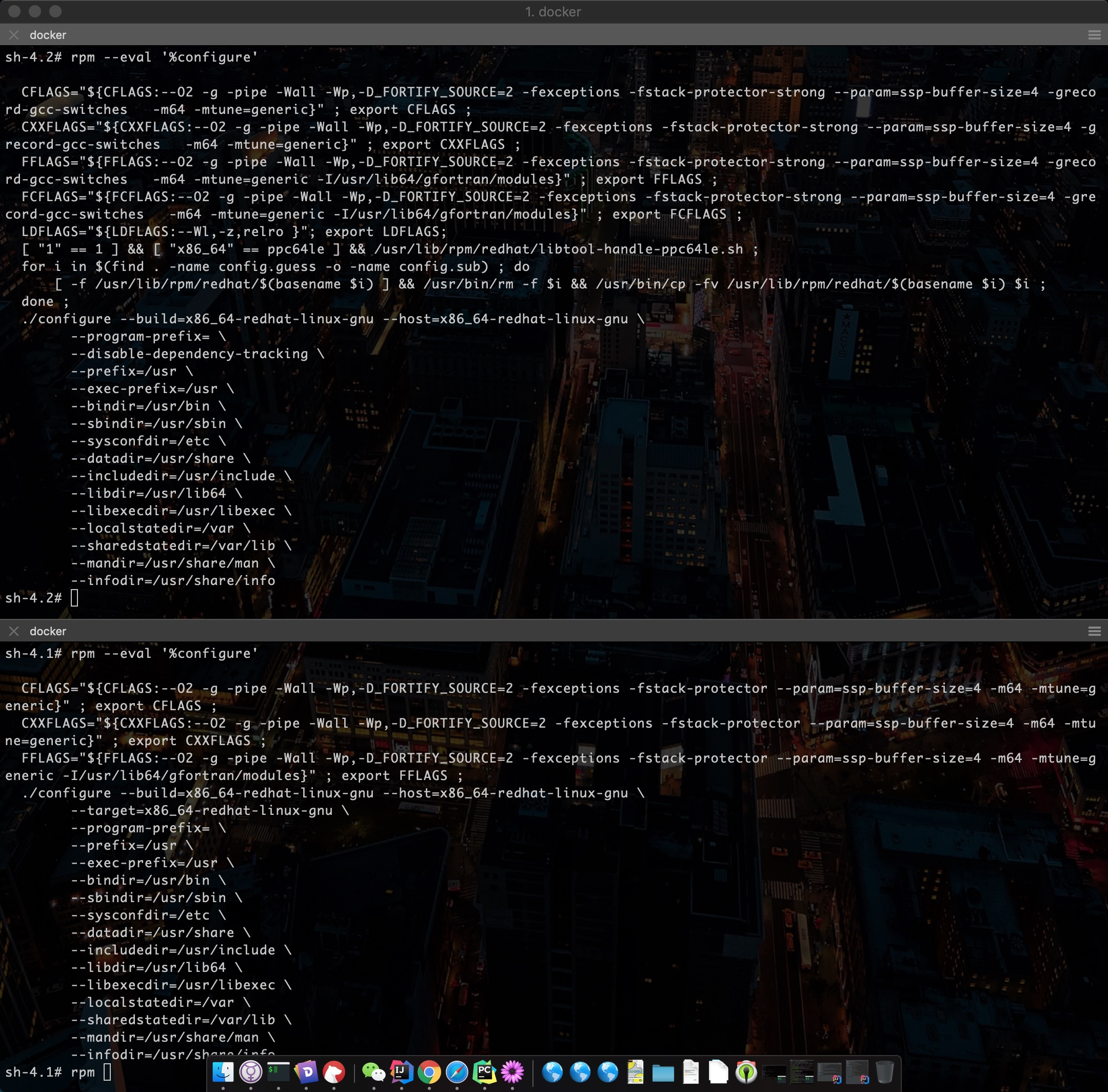 Docker Stackoverflow