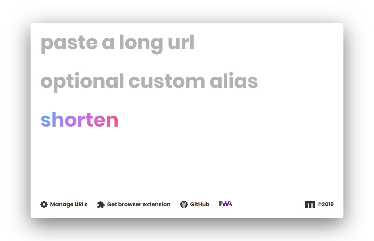 How to create your own custom URL shortener in 10 minutes