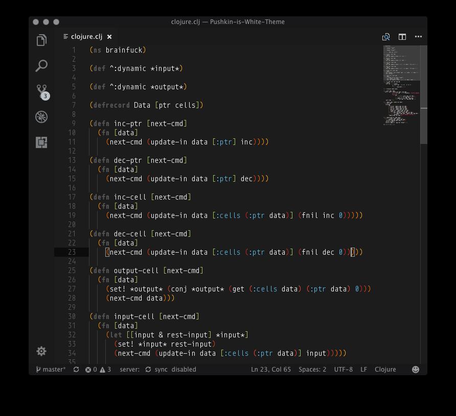 Clojure black example 1