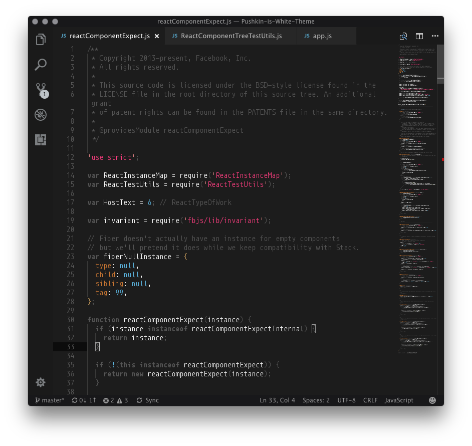 Javascript black example 1