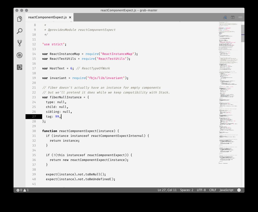 Javascript white example 1