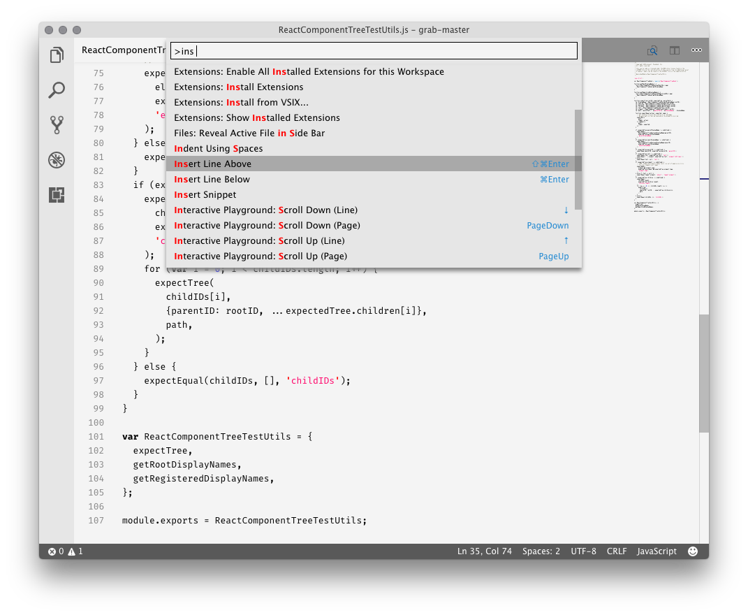 Javascript white example 3